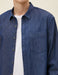 Chambray Shirt in Dark Indigo