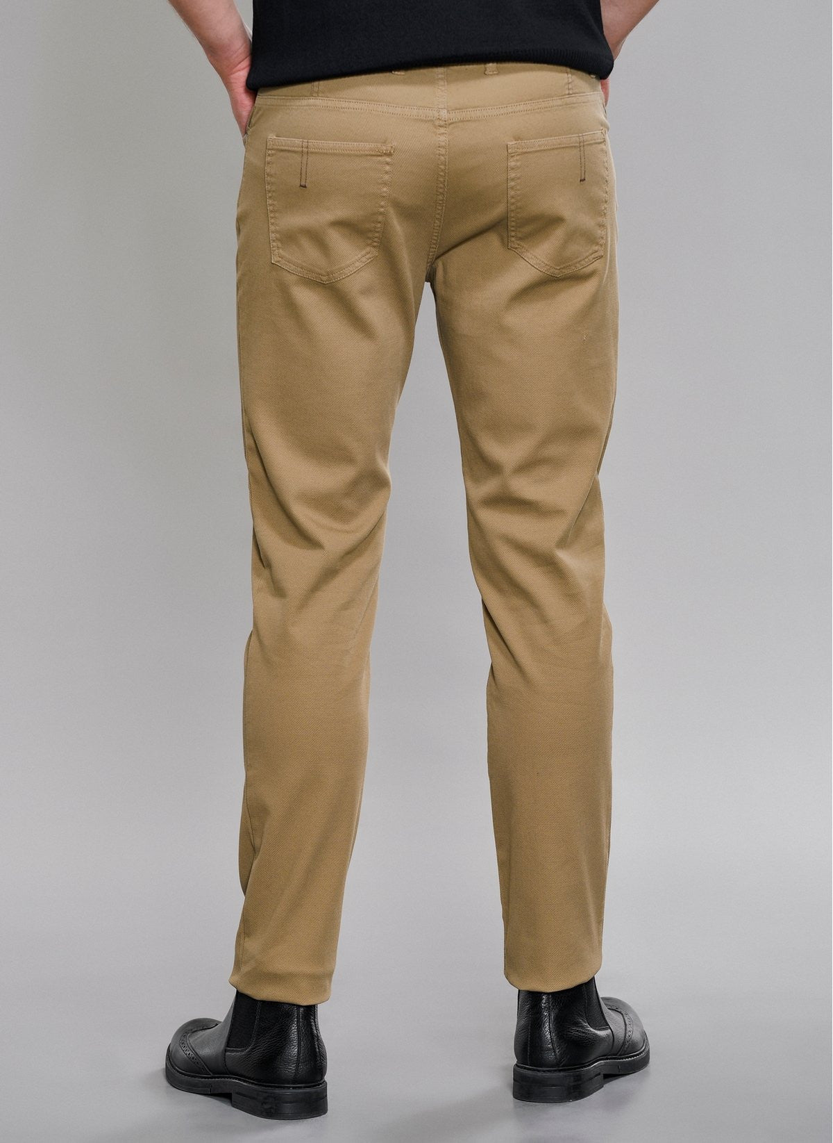 5-Pocket Slim Fit Pant in Camel