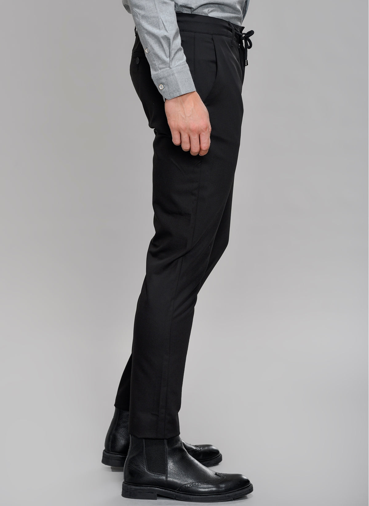 Dress Pants with Removable Drawstrings