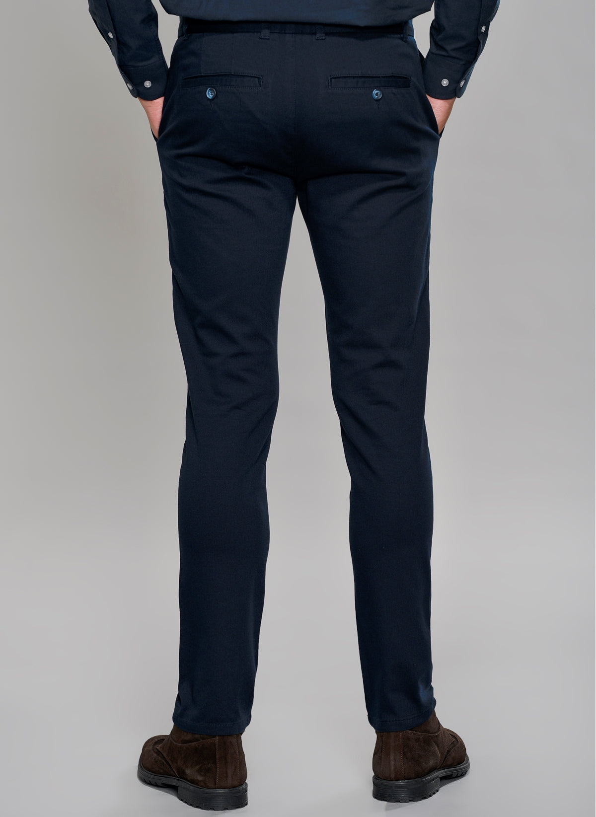 Slim Fit Chino Pants in Navy