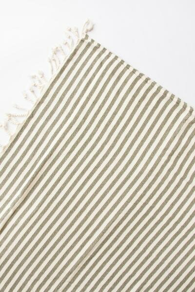 STRIPE DOUBLE FACE BEACH TOWEL