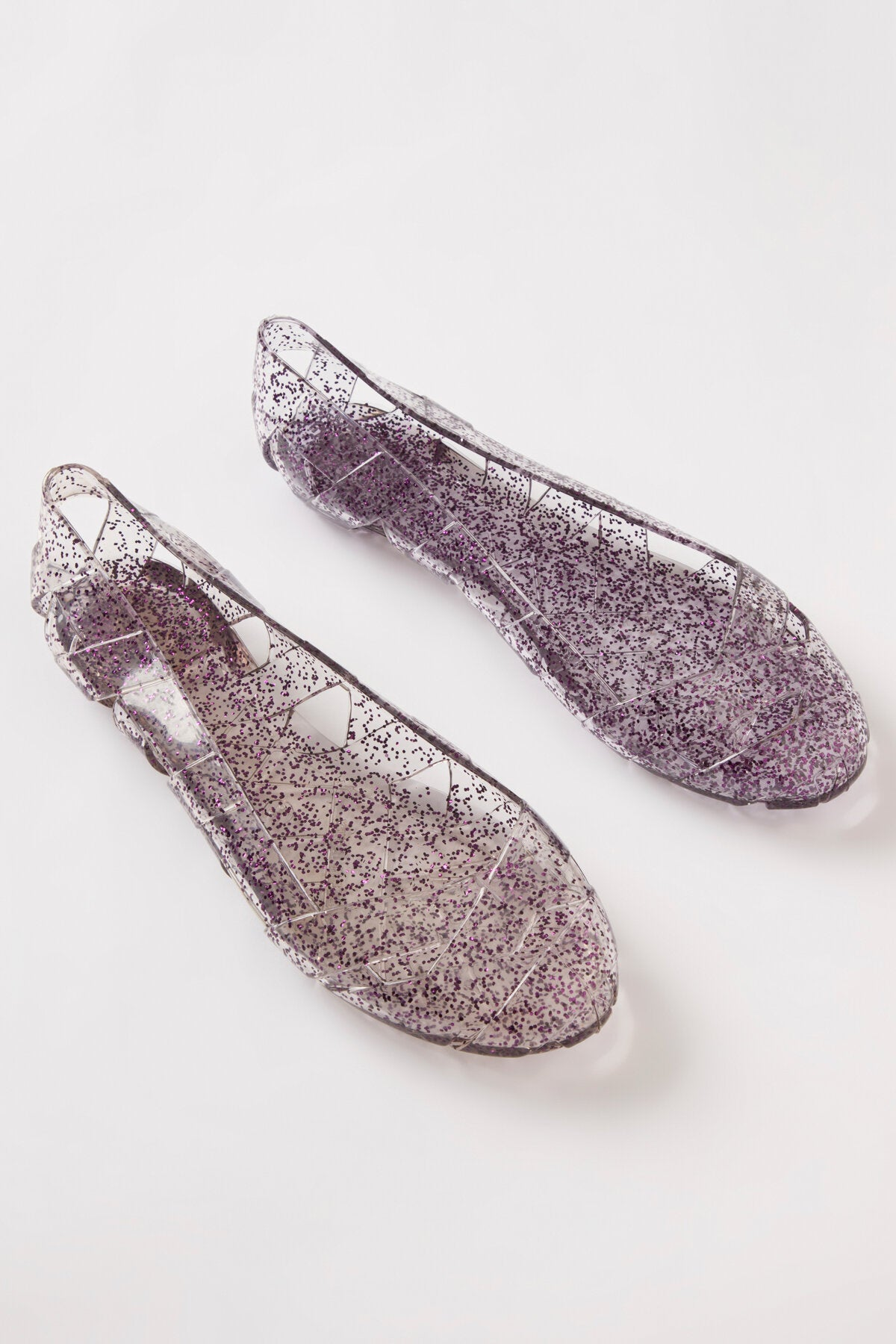 BEACH JELLY SHOES IN PLUM