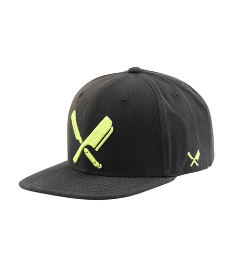 Cap broken black Fluo Yellow