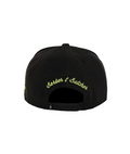 "Cap broken black Fluo Yellow ""Barber&Butcher"" - AFTERWORK Fashion - CASQUETTE"