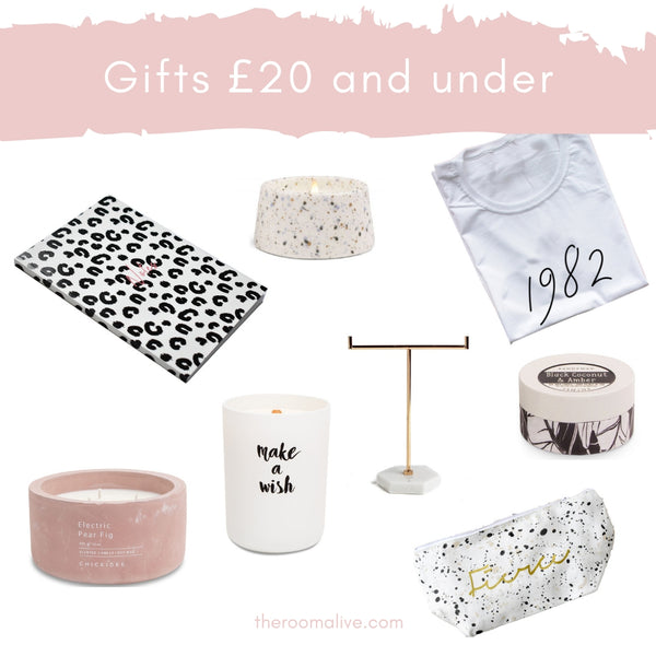 Mother's Day Gift Ideas under £20