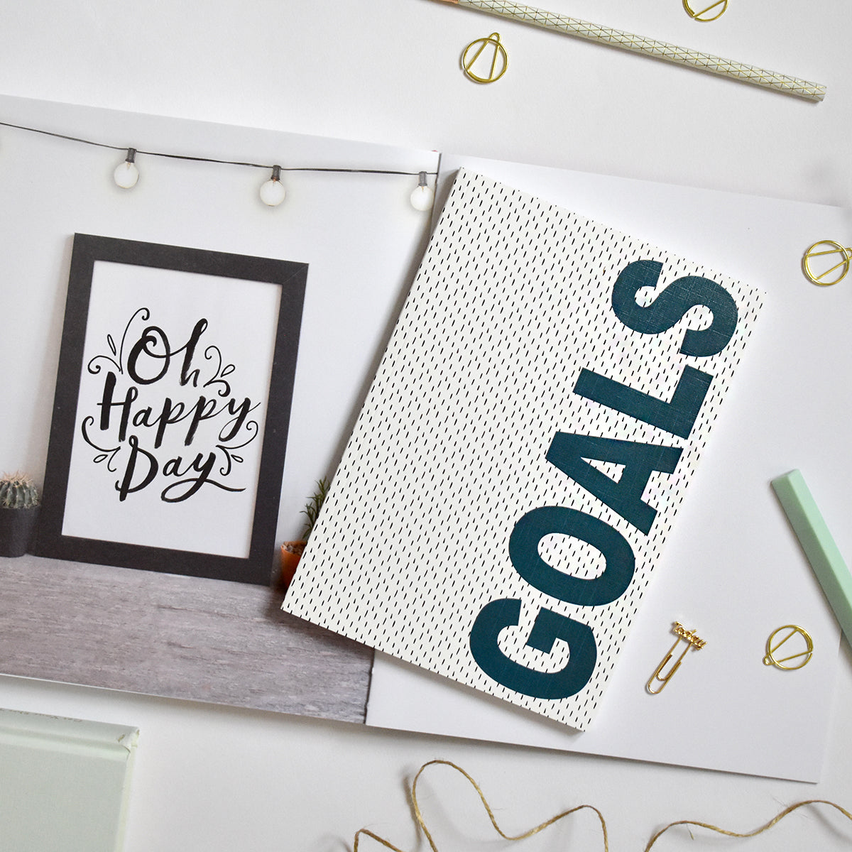 A5 Notebook 'Goals'