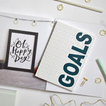 Load image into Gallery viewer, A5 Notebook 'Goals'
