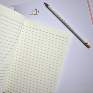 Set of 2 Slim Notebooks - lined pages