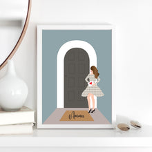 Load image into Gallery viewer, Girl by the Door Print - Customise your own