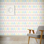Load image into Gallery viewer, Beach Huts Wallpaper - Pastel