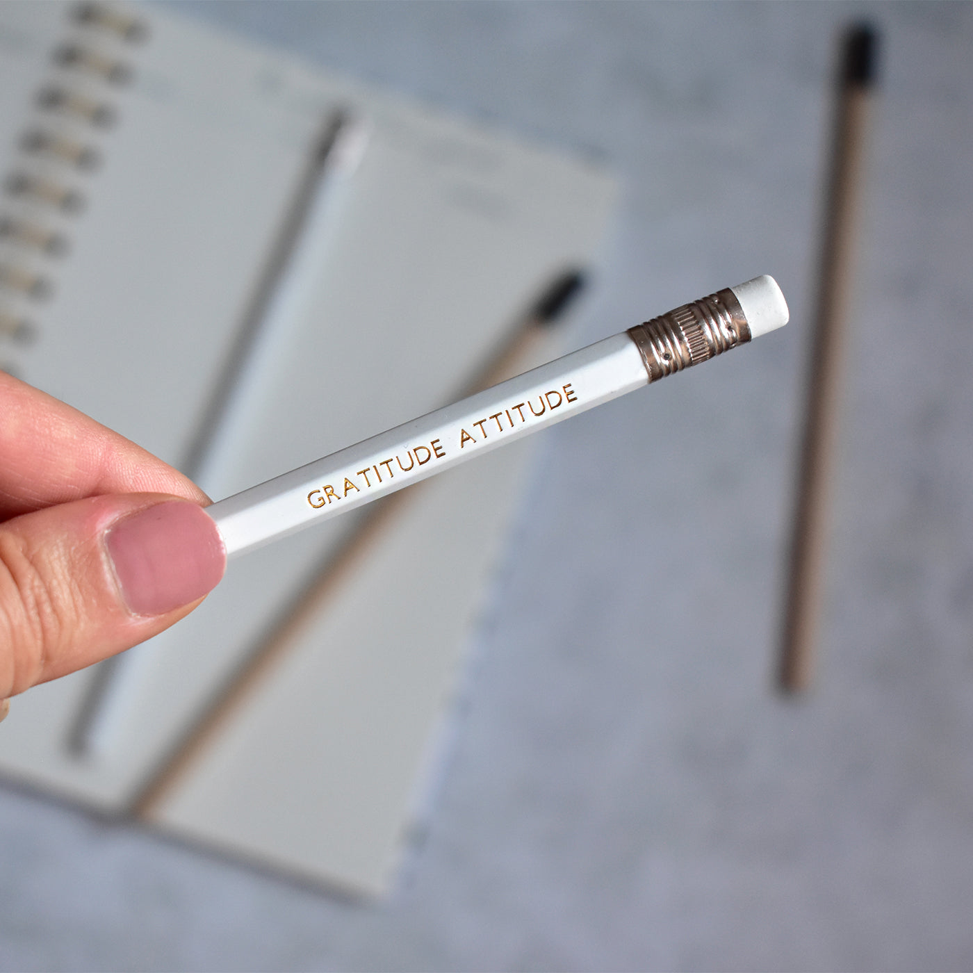 Set of Four Gratitude Pencils