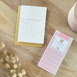 A Card and a Chocolate Letterbox Gift