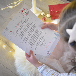 Christmas Letter from Santa and Nice Certificate