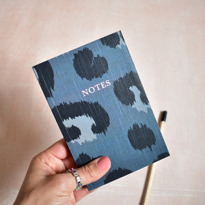A6 Notebook Leopard 'Notes'