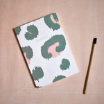 Load image into Gallery viewer, A5 Notebook Green Leopard