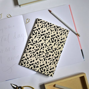 Wild Dots A5 Notebook - lined pages