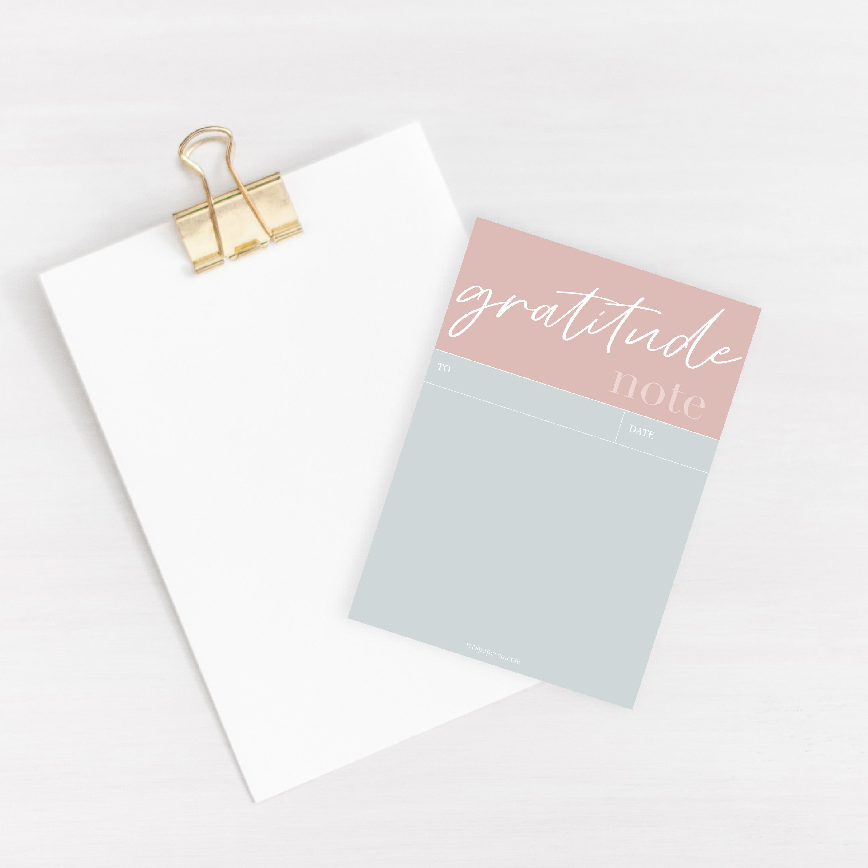 Love, Gratitude and Happy Notepad Set