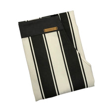 Load image into Gallery viewer, Charcoal Stripe Apron