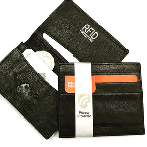 RFID Leather Card Wallets - Samuel