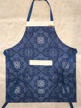 Load image into Gallery viewer, China Blue Floral Apron