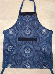 China Blue Floral Apron