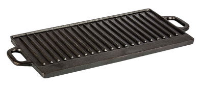 Plancha Grill reversible rectangular XL 81 x 35 cm-Mall del Parrillero