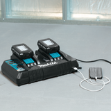Makita DC18RD 18V LXT® Lithium-Ion Dual Port Rapid Optimum Charger