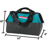 "Makita 831253-8 14"" Contractor Tool Bag"