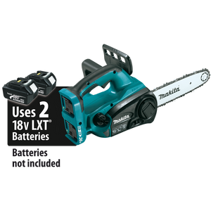 "Makita XCU02Z 18V X2 (36V) LXT® Lithium-Ion Cordless 12"" Chain Saw (Bare Tool)"