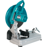 "Makita LW1400X 14"" Cut-Off Saw with Tool-Less Wheel Change and 5 ea. Cut-Off Wheels"