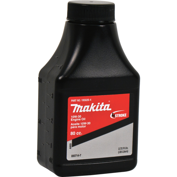 Makita 195826-4 4-Cycle Engine Oil, 10W-30, 2.7 oz.