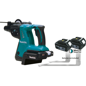 "Makita HRH01ZX2 18V X2 LXT® Lithium-Ion (36V) Cordless 1"" Rotary Hammer, accepts SDS-PLUS bits (Tool and Adapter Only)"