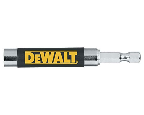 DEWALT Drill Extension Bit Holder, Magnetic Drive Guide, Tough Grip, Compact (DWATGDG)