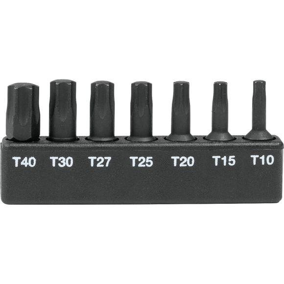 Makita A-96615 ImpactX™ 7 Pc. Torx® 1″ Insert Bit Set