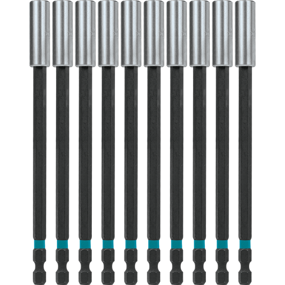 Makita A-99297 ImpactX™ 6″ Magnetic Insert Bit Holder, 10 pack