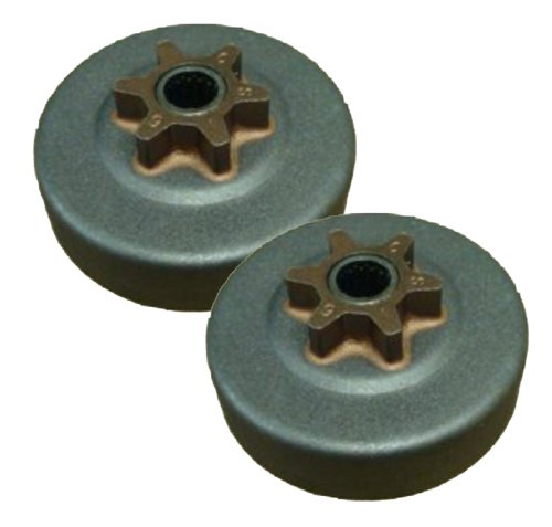 Craftsman/Husqvarna/Poulan (2 Pack) Replacement Clutch Drum & Gear Assy # 530047061-2pk