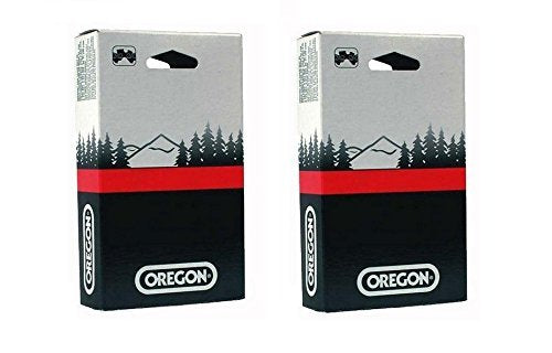 2 Pack, Oregon 90PX052G Low Profile 3/8-Inch Pitch 0.043-Inch Gauge 52-Drive Link Saw Chain, For Echo 90PX52CQ , 14