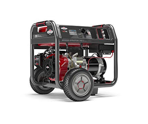Briggs & Stratton ELITE7000 7000W Portable Generator with CO Guard and Key Electric Start and Remote Choke, Powered by Briggs & Stratton, 030740
