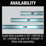 "Makita 194368-5 55"" Guide Rail"