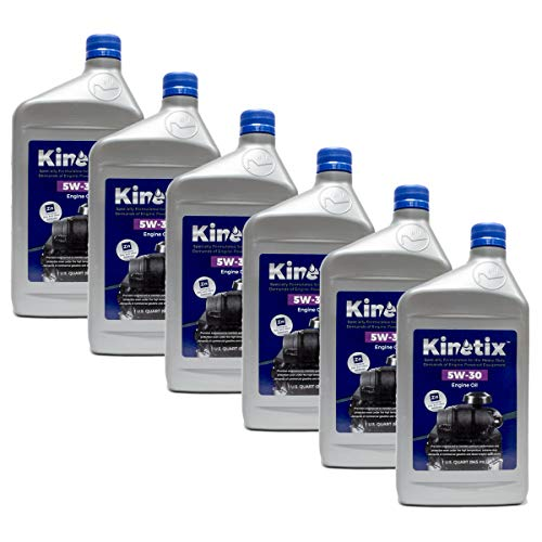 6PK Quart Kinetix High Performance Small Engine 5W-30 Oil 80014 4-Cycle Engine