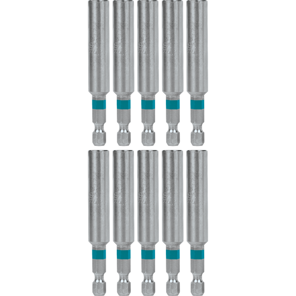 Makita A-99312 ImpactX™ 3″ One Piece Magnetic Insert Bit Holder, 10 pack