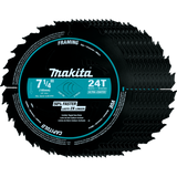 "Makita A-94530-10 7-1/4"" 24T Carbide-Tipped Ultra-Coated Circular Saw Blade, Framing, 10 pack"