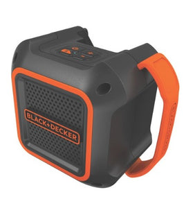 Black & Decker BDBTS20B 20V Max Bluetooth Speaker with AC Power