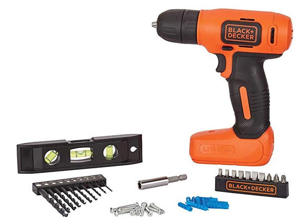 Black & Decker BDCD8HDPK 8V Cordless Home Project Kit