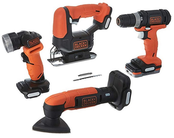 Black & Decker BDCK502C1 GoPak 4 Tool Combo Kit