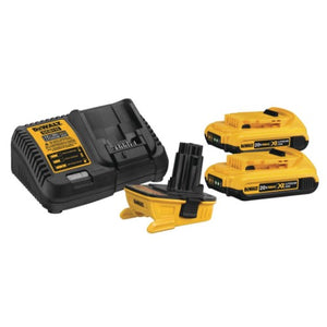 DeWalt DCA2203C Battery Adapter Kit for 18V Tools, 20V