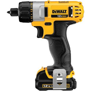 "DeWalt DCF610S2 12V MAX 1/4"" Screwdriver Kit"