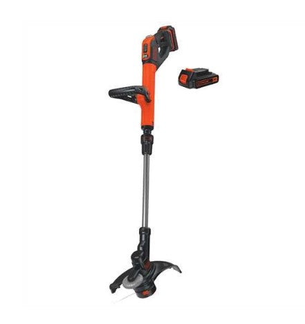 Black & Decker LSTE525 20V Max Easy Feed String Trimmer (2) 1.5AH