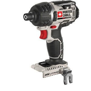 "Porter Cable PCC640B 20V Max Cordless Compact 1/4"" Impact Driver (Bare Tool)"