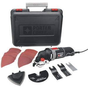 Porter Cable PCE605K 3 Amp Oscillating Multi-Tool Kit w/31 Acessories